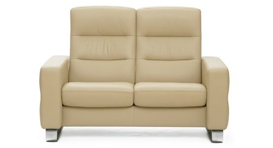 Ekornes Stressless Wave High Back Loveseat