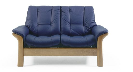 Ekornes Stressless Windsor Low Back Loveseat