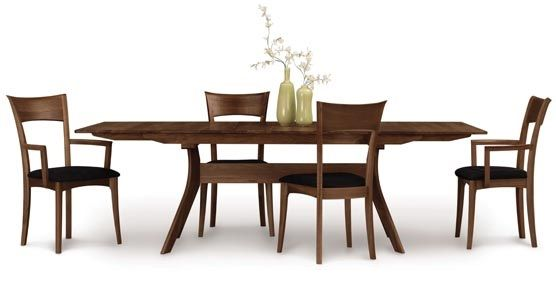 Copeland Audrey Extension Table Collection in Walnut