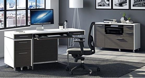 BDI Format Office Collection, Charcoal