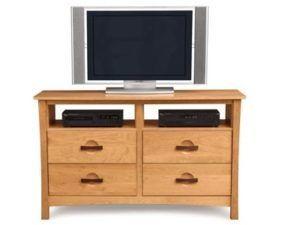 Copeland Berkeley 4-Drawer Dresser + TV Organizer