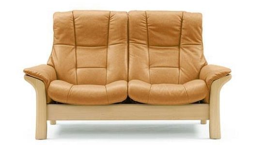 Ekornes Stressless Buckingham High Back Loveseat