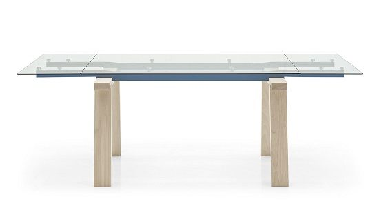 Calligaris Levante Glass Top Table CS/4091-R