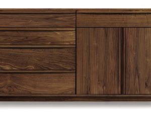 Copeland Catalina 4Drawers, 1Drawer over 2Doors Dresser