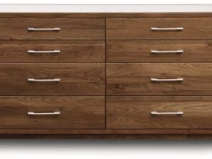 Copeland Contour 8-Drawer Dresser Glass Top