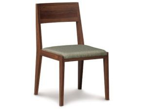 Copeland Kyoto Upholstered Side Chair in Walnut