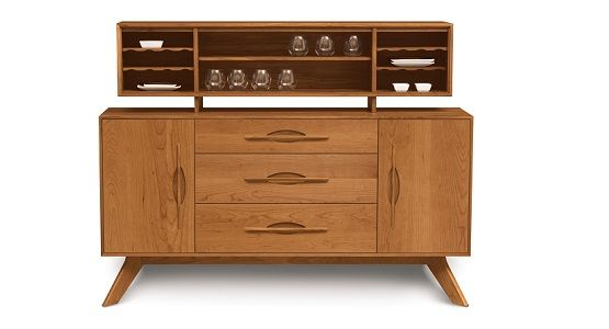 Copeland Audrey Buffet and Hutch in Cherry