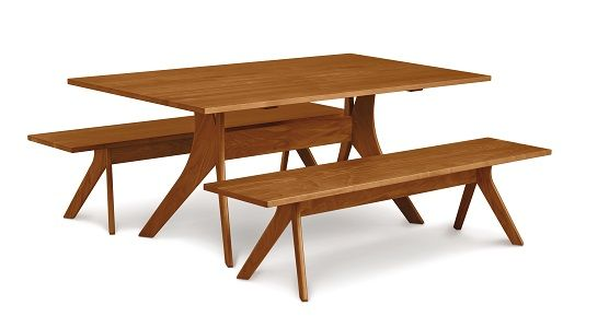 Copeland Audrey Fixed Top Table Cherry