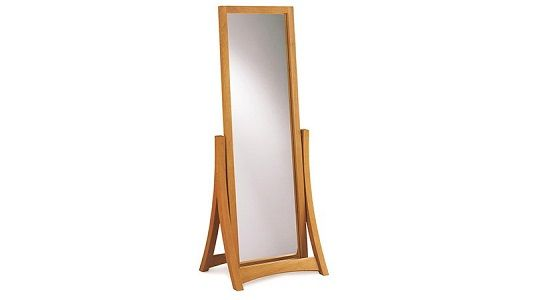 Copeland Cherry Floor Mirror