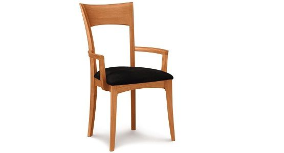 Copeland Ingrid Upholstered Armchair in Cherry