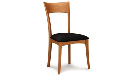 Copeland Ingrid Uphosltered Side Chair in Cherry