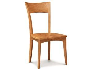 Copeland Ingrid Side Chair with Wood Seat