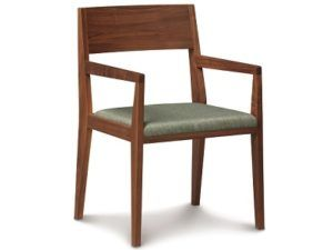 Copeland Kyoto Upholstered Armchair in Walnut