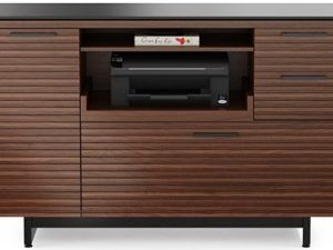 BDI Corridor Multifunctional Cabinet, Chocolate Stained Walnut 6520