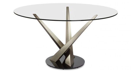 "Elite Crystal 48"" Round Dining Table 394RND-48"