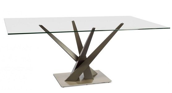 """Elite Crystal 60"""" Rect. Dining Table 394REC-60"""