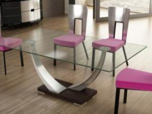 "Elite Tangent 74"" Rectangular Dining Room"
