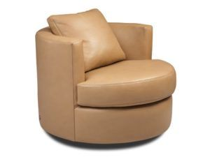American Leather Emma Swivel Chair