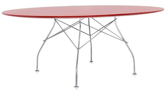 Kartell Oval Glossy Dining Table
