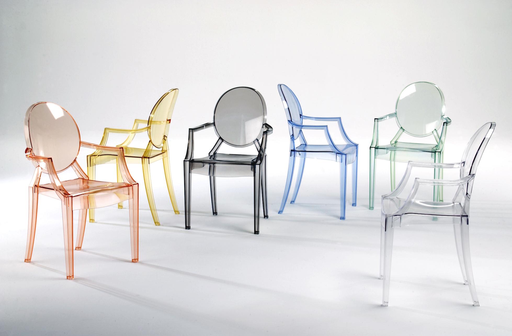 Kartell Louis Ghost Armchair - Ambiente Modern Furniture