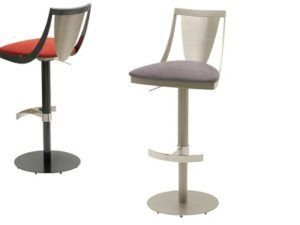 Elite Lana Swivel Hydraulic Barstool 455B