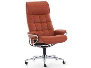 Ekornes Stressless London High Back Office Chair