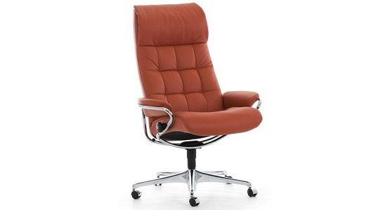Ekornes Stressless London High Back Office Chair
