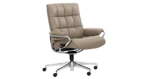 Ekornes Stressless London Low Back Office Chair