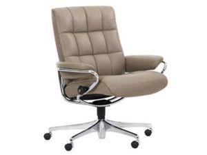 Ekornes Stressless London Low Back Office Chair