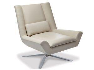 American Leather Luke Swivel Chair