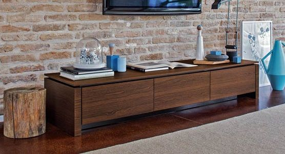 Calligaris Mag Wood TV Bench CS/6029-3RL