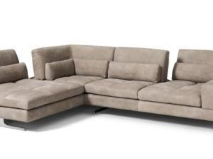 MaxDivani Blues Adjustable Sectional