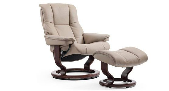 Ekornes Stressless Mayfair Recliner & Ottoman (Classic)