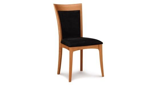 Copeland Morgan Upholstered Side Chair in Cherry
