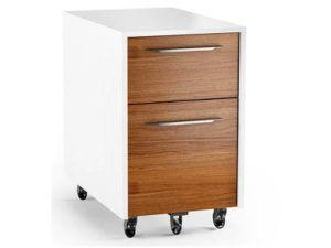 BDI Format Mobile Pedestal File, Walnut 6307