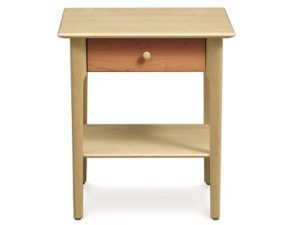 Copeland Sarah 1 Drawer Nightstand w/Shelf in Maple/Cherry