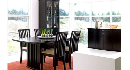 Skovby SM19 Expandable Dining Room