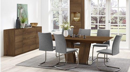 Skovby SM39 Expandable Dining Room