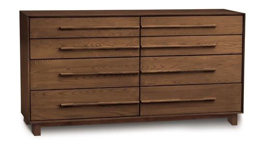 Copeland Sloane 8 Drawer Dresser Walnut