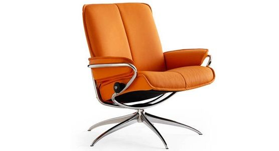 Ekornes Stressless City Low Back Recliner