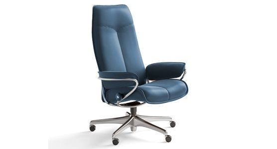 Ekornes Stressless City High Back Office Chair