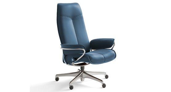 Ekornes Stressless City High Back Office Chair