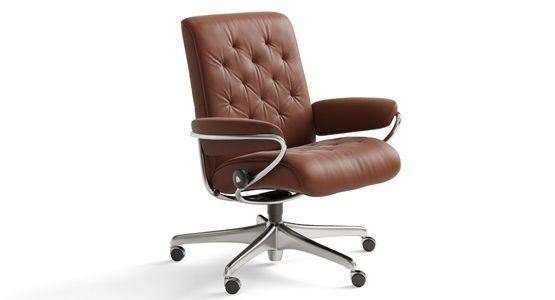 Ekornes Stressless Metro Low Back Office Chair