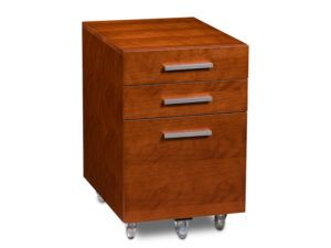 BDI Sequel Low Mobile 3 Drawer Pedestal 6007-2