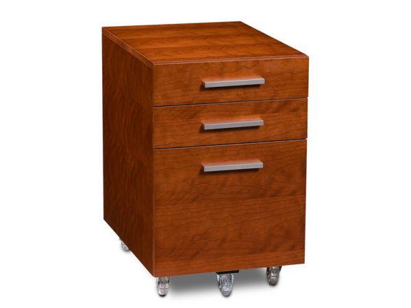 BDI Sequel Low Mobile 3 Drawer Pedestal 6007-2