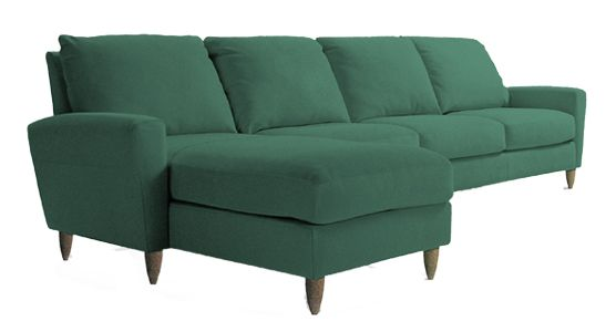 American Leather Bennet Sectional