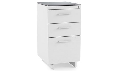 BDI Centro 3-Drawer File Cabinet 6414