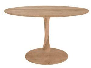 Ethnicraft Oak Torsion Dining Table
