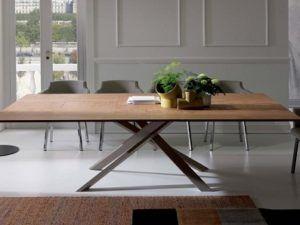 Ozzio Italia 4x4 Fisso Extendable Table