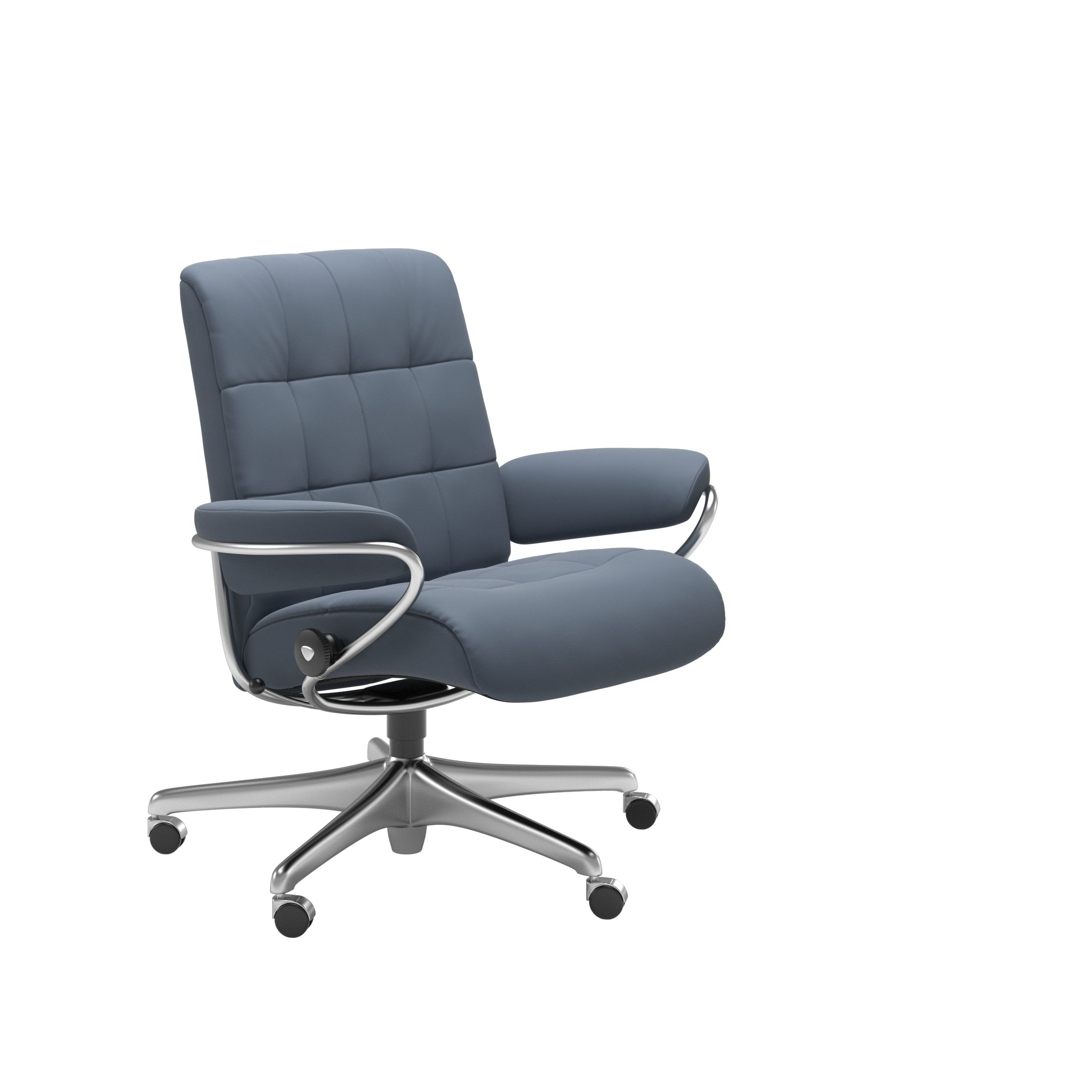 Stressless London Low Back Office Chair - Ambiente Modern Furniture